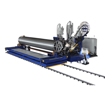 HDPE/PP Profiled Pipe Machine
