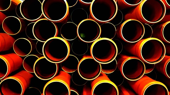 HDPE profile pipe